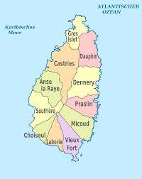 Saint Lucia Map Iso 3166 2 Lc U2013 Wikipedia