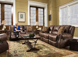 waylon mocha glider reclining sofa and loveseat my furniture place