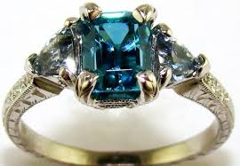 blue zircon rings images Blue zircon sapphire diamond white gold ring the jewelers guild jpg