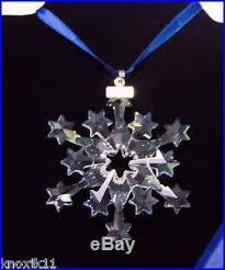 swarovski 2004 snowflake ornament