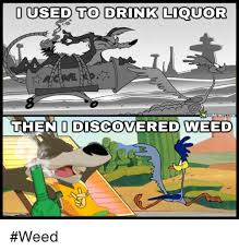 Weed Memes - ussed to drink liquor weed memescom theno discovered weed weed