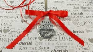 personalized engagement christmas ornament newly engaged just
