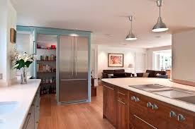 Cotton Curtains And Drapes American Walnut Kitchen Contemporary With Island Modern Curtains