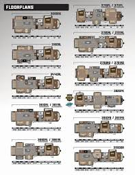 keystone travel trailer floor plans 2017 keystone rv montana brochure rv literature