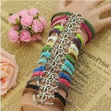 simple charm bracelet jewelry wholesale couples colors pretty