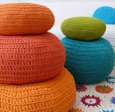 moroccan poufs pouffes and poofs