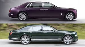 bentley wraith roof 2018 rolls royce phantom vs 2017 bentley mulsanne youtube