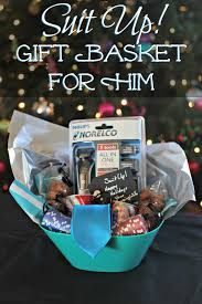 mens gift baskets suit up gift basket for him living a
