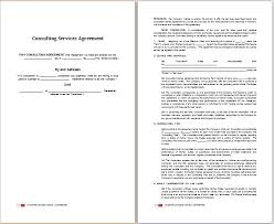 word consulting services agreement template free agreement templates