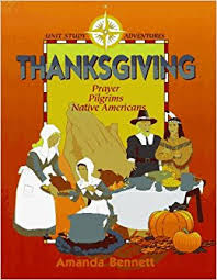 thanksgiving prayer pilgrims americans unit study