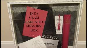 graduation memory box ikea glam graduation memory box