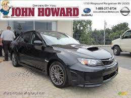 subaru sti 2011 black 2011 subaru impreza wrx sedan in obsidian black pearl 521606