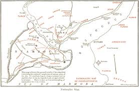 Map Of Istanbul File Istanbul Ethnic Map 1922 Jpg Wikimedia Commons