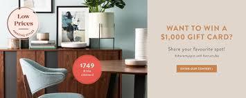 Desk Accessories Uk by Modern Furniture Accessories Home Decor Structube