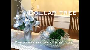 dollar tree christmas centerpiece diy vd 1 youtube