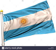 Argentina Flag Photo Argentina Flag On A Flag Pole Clipping Path Included Silk