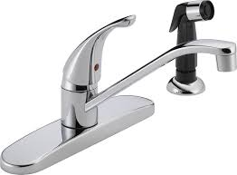 peerless p115lf classic single handle kitchen faucet chrome
