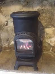 thurcroft stove real flame calor butane gas fire looks like multi