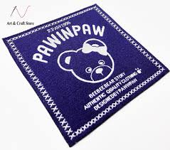 Customize Your Own Flag Low Price Depand On Your Design Custom Woven Labels Clothes