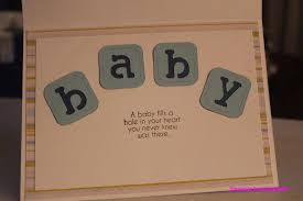 baby shower card cricutdiva design team