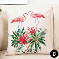 Pillows For Grey Sofa Flamingo Throw Pillows For Grey Couch Flower Decorative Sofa