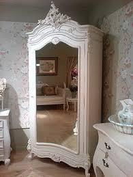 white mirrored armoire darque decor bedroom pinterest