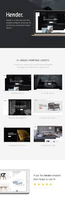 architecture layout design psd hender architecture and interior design agency psd template by