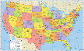 map of usa states and capitals and major cities major cities in us map of state capitals and throughout the usa