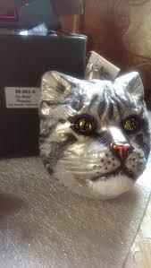 Swarovski Christmas Ornaments Ebay by 84 Best Cat At Christmas Ornaments Images On Pinterest Cats