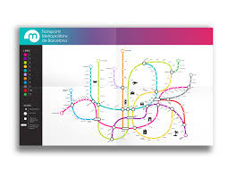 Barcelona Metro Map by Barcelona Metro Redesign On Behance