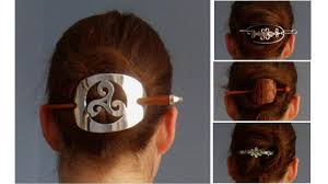 hair slide hair tutorial hairslide bun