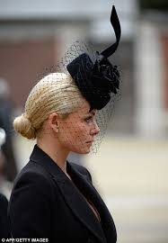 funeral veil margaret thatcher funeral fascinators and pearls are order