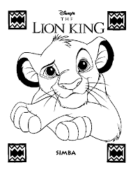 lion king books coloring