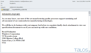 Sample Email Message With Attached Resume by New Malware Threatens To Destroy Your Pc If You Try To Detect It