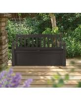 Keter Bench Storage Storage Bench Outdoor U0026 Patio Benches Bhg Com Shop
