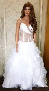 wedding corset see through corset wedding dress