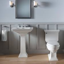 Bathroom Pedestal Sink Ideas Barton Bath And Floor Vanity U0026 Sink