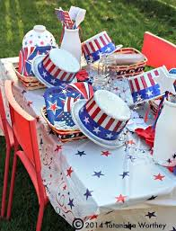 fourth of july decorations charming fourth of july table decoration patriotic table