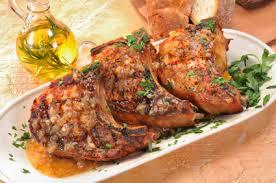 cuisiner cote de porc côtes de porc à la portugaise châtelaine