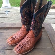 ferrini s boots size 11 50 ferrini boots ferrini hornback caiman print
