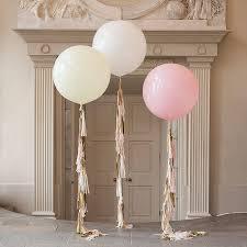 large balloons baby pink tassel balloon large balloons letter