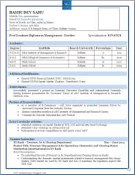 resume format for fresher sle of a beautiful resume format of mba fresher resume formats