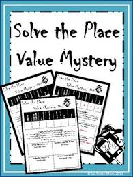 place value mystery number solve the place value mystery standard form worksheets and students