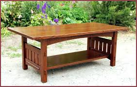 Craftsman Coffee Table Craftsman Coffee Table Coffee Table With Arched Apron Overhanging