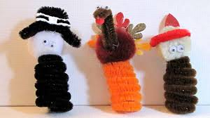 easy thanksgiving craft make finger puppets woo jr