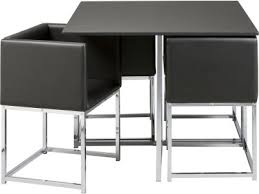 white space saver table argos product support for hygena lucia black space saver table and 4