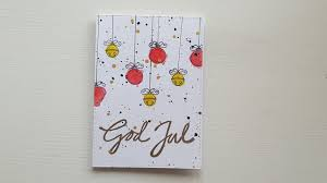 christmas cards in watercolor christmas card diy card watercolor mft