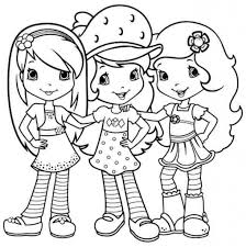 Strawberry Shortcake Halloween Coloring Pages by Strawberry Shortcake Coloring Pages Sufudvrlistscom Throughout