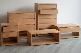 Wooden Box Bed Furniture Solid Wood Bedroom Furniture Collection Natural Bed Company