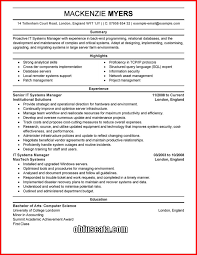 it resume template resume templates